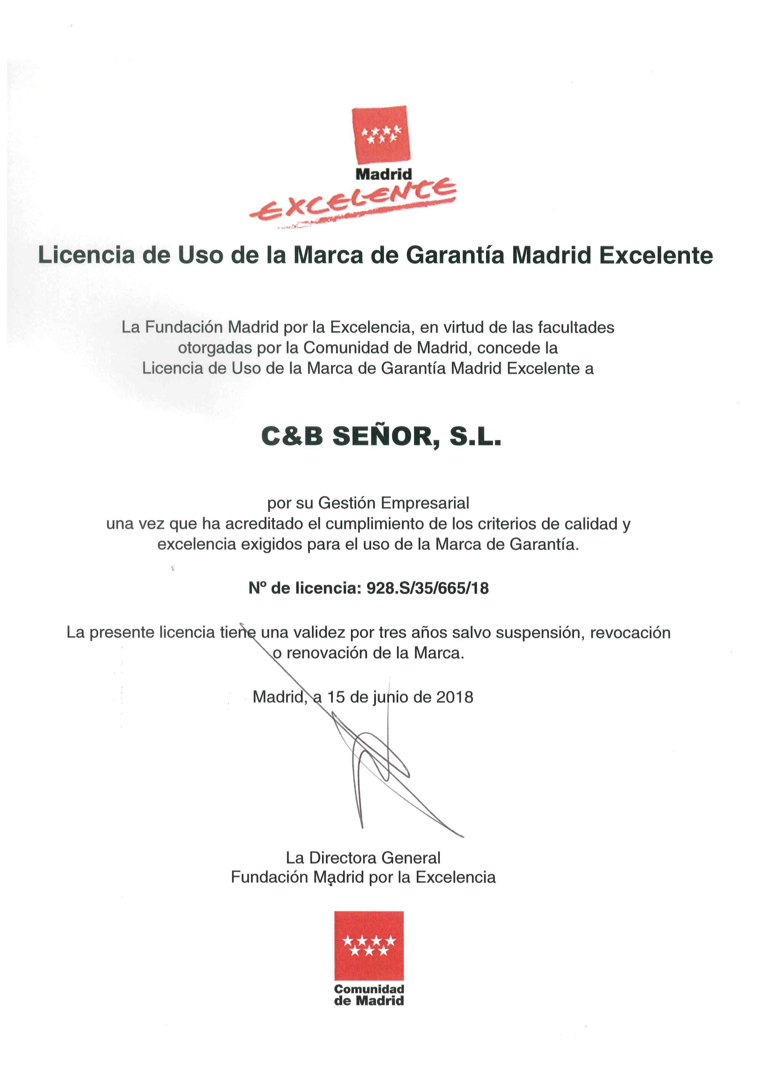 Certificación Ecoembes