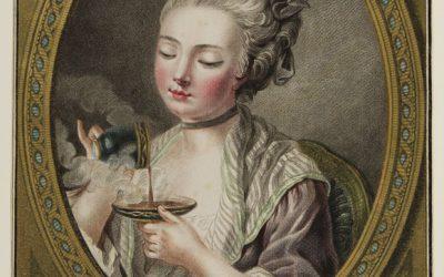 ¿Para qué se inventó el platito que acompaña la taza de café?