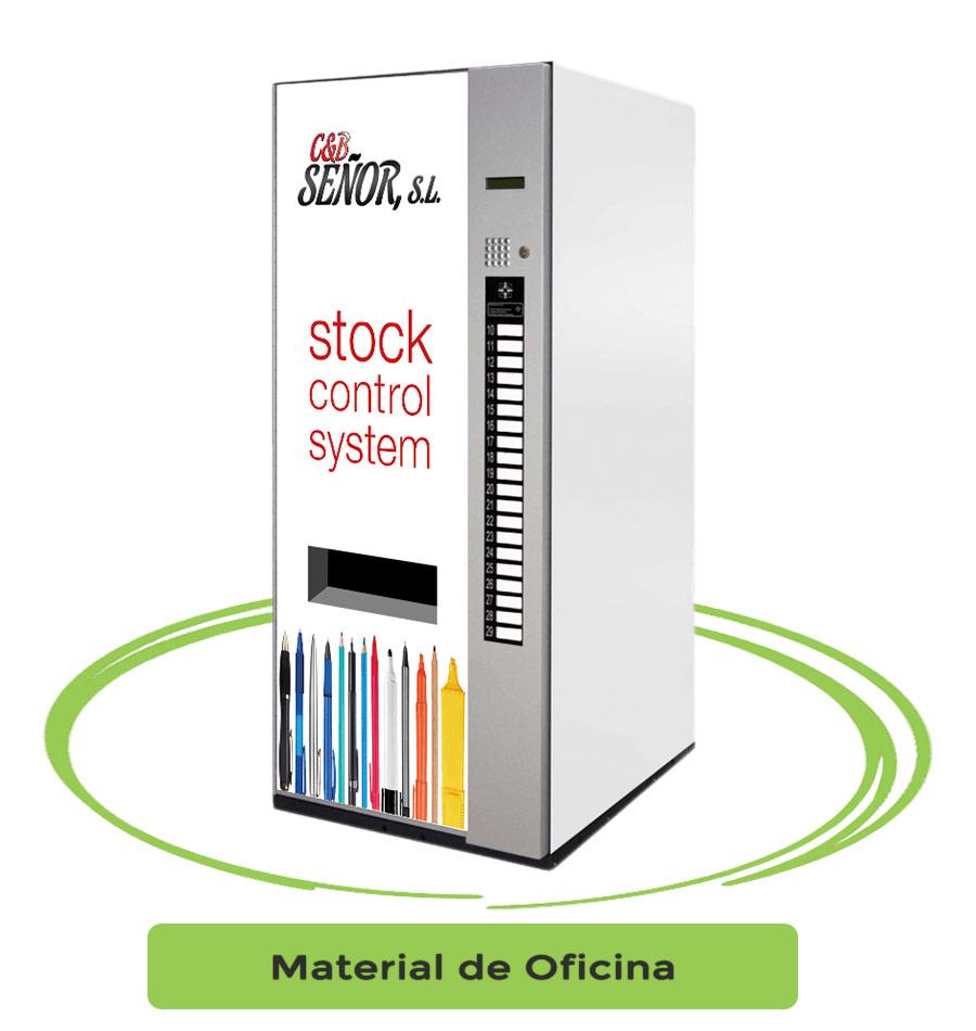 maquinas vending material de oficina
