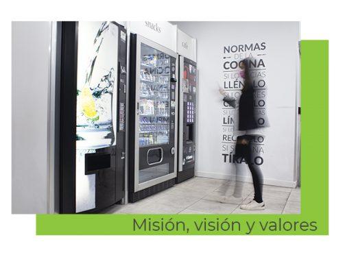 mision vision y valores c&b Señor